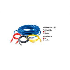 Patch cord cat5E e cat6